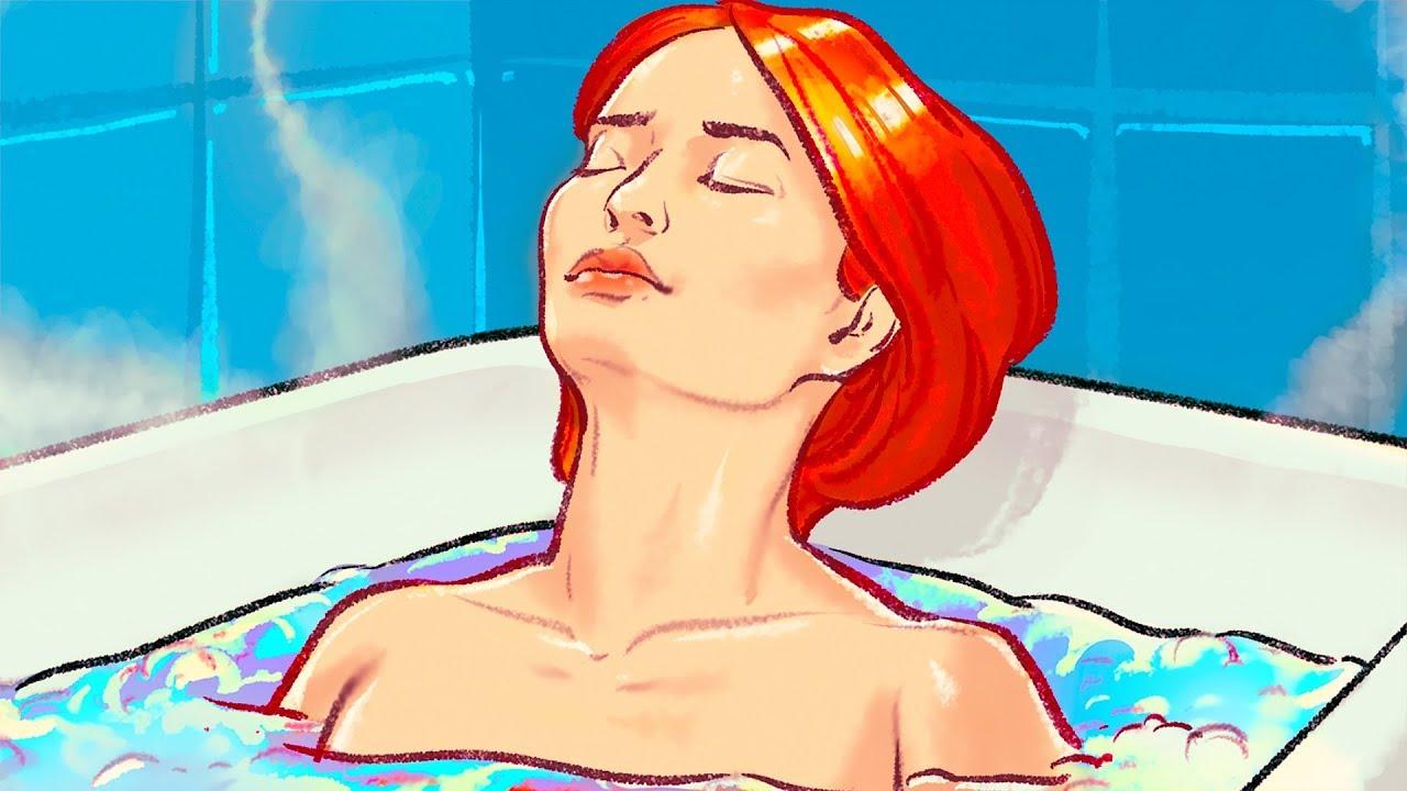 Tắm nước nóng đốt cháy nhiều calo như đi bộ 30 phút