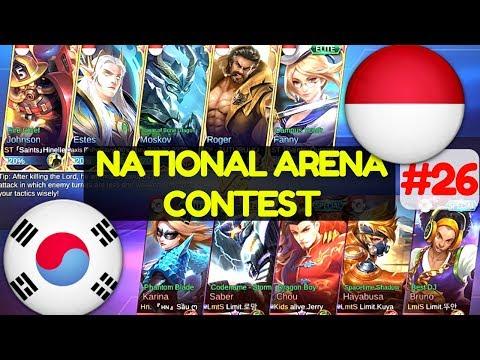 South Korea VS Indonesia [2nd Game 210617] National Arena Contest Mobile Legends