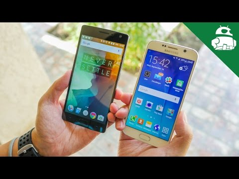 OnePlus 2 vs Samsung Galaxy S6