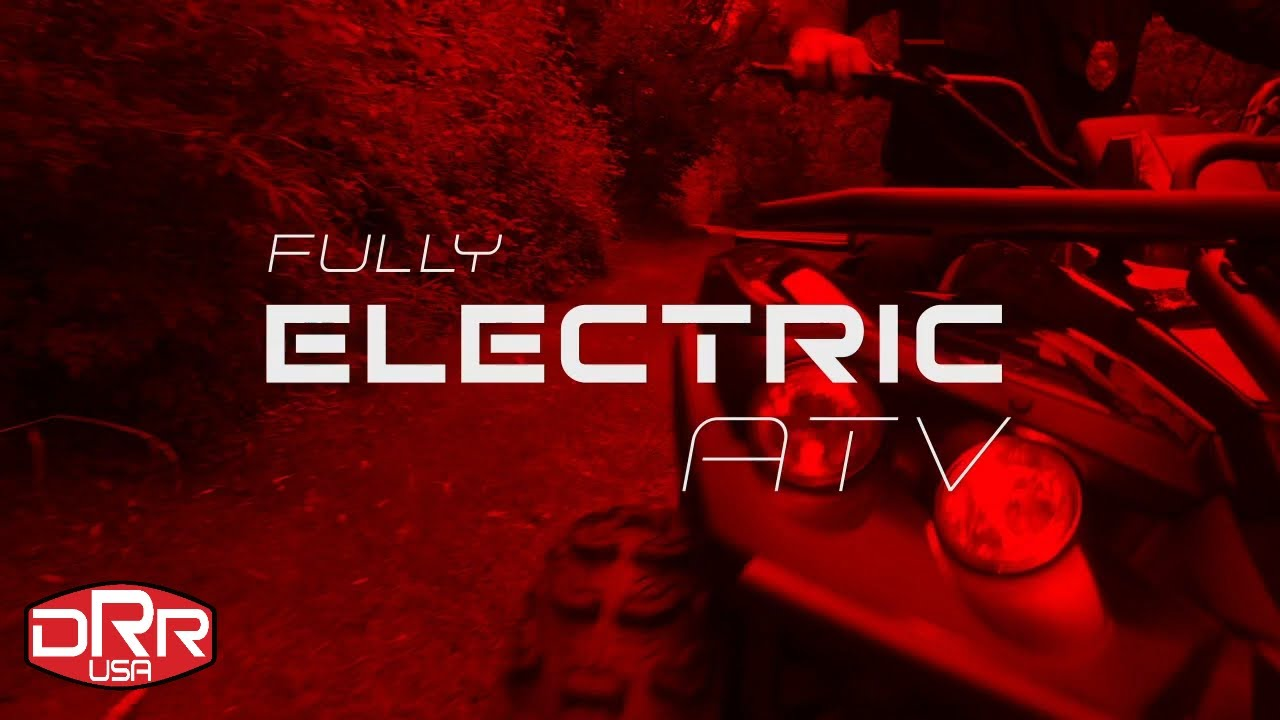 Introducing New Electric ATV by DRR USA