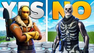 10 WORST SKINS YOU SHOULD NEVER BUY In Fortnite: Battle Royale