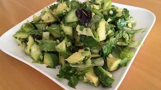 Очень полезный салат из авокадо/[ПП]/Juda foydali  salat