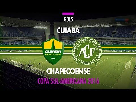 Gol - Cuiabá 1 x 0 Chapecoense - Copa Sul-Americana - 25/08/2016