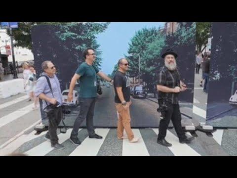 O día que o Paseo da Fama quixo ser Abbey Road