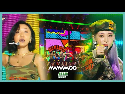 [HOT] MAMAMOO  - HIP , 마마무  - HIP Show Music Core 20191123