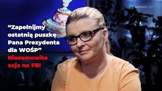 Patrycja Krzemińska zebrała już ponad 6 milionów zł dla WOŚP!