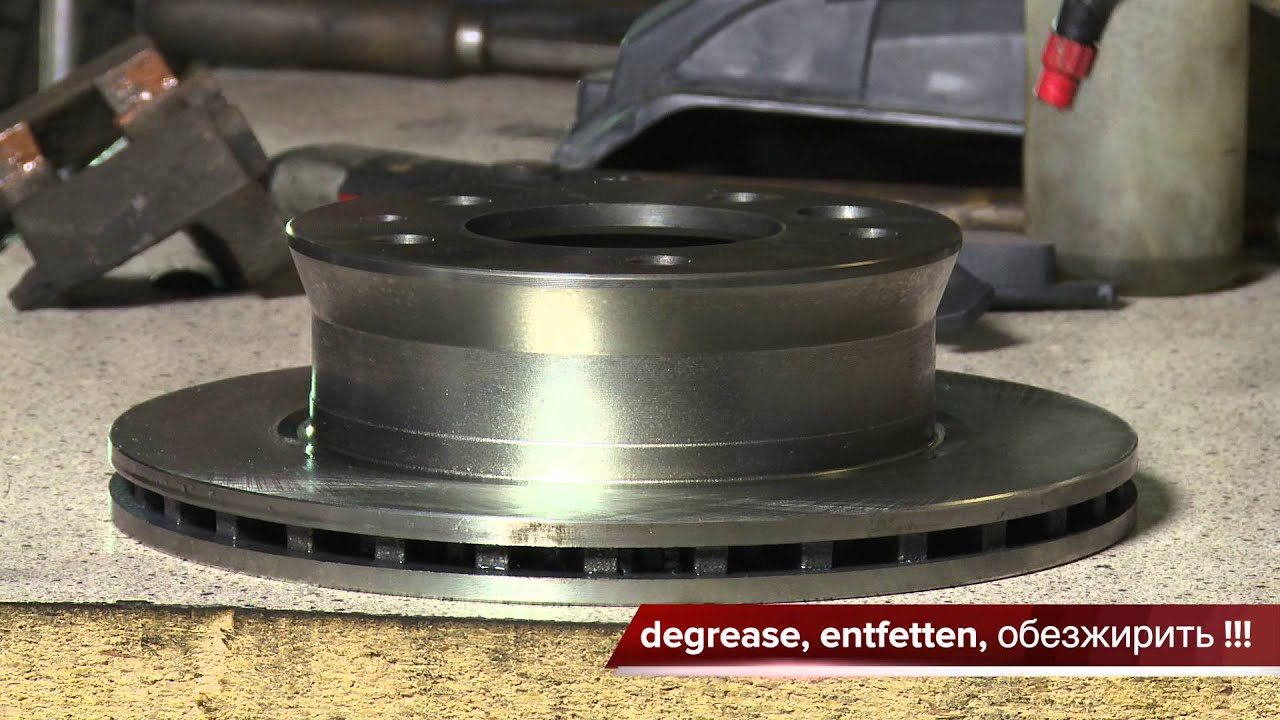 [ Mercedes Sprinter ] How to Front Brake replacement. Rotor and Pads - YouTube