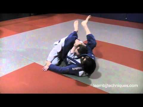 Gift Wrap Triangle Choke Submission - Brazilian Jiu-Jitsu