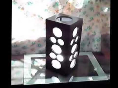 L mpara minimalista danvar youtube for Lampara de piso minimalista