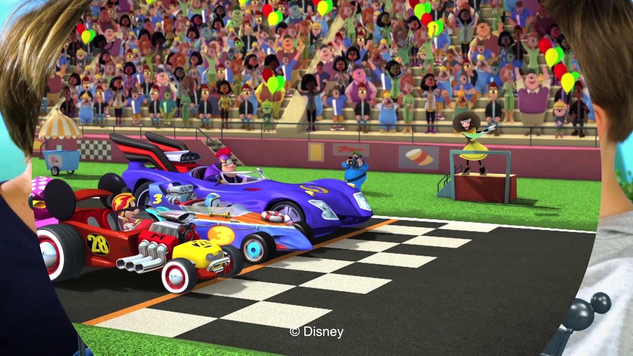 Pista Mickey Súper De Los Superpilotos Mouse Entrenamiento Y m8wOnyvN0P