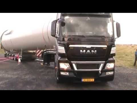 Heavy Load Service Almelo 5m wideload Berridale braes Scotland