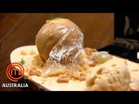 28 Step Epic Toffee Apple Dessert Pressure Test | MasterChef Australia | MasterChef World