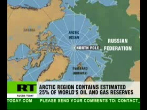 Ivan Canas: As global warming is melting the Artic Russia, Canada ...