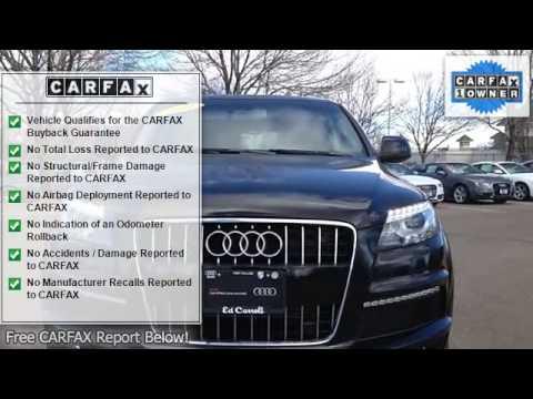 2011 Audi Q7 Ed Carroll Motor Company Fort Collins Co