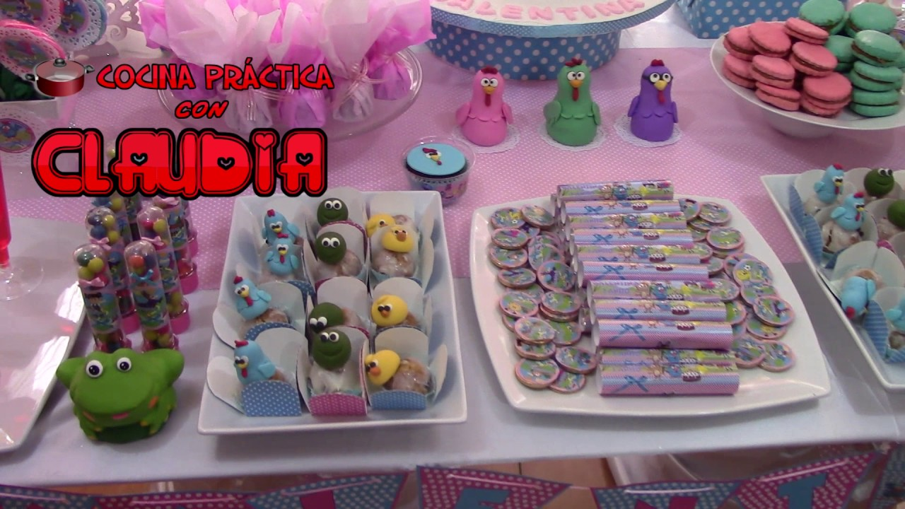 Mesa tem tica decorada para fiestas infantiles youtube for Mesas decoradas para fiestas