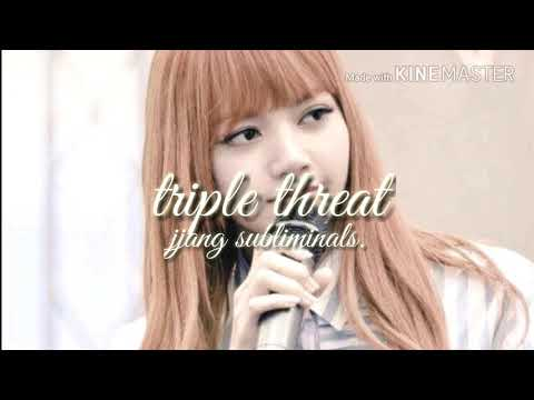 become extremely talented in singing, dancing and rapping // triple threat subliminal