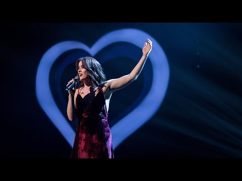 "Eurovision 2017 UK Entry: Lucie Jones performs ""Never Give Up On You"" - Eurovision: You Decide - BBC"