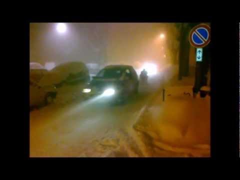 INCREDIBILE Emergenza neve force 2012 AP