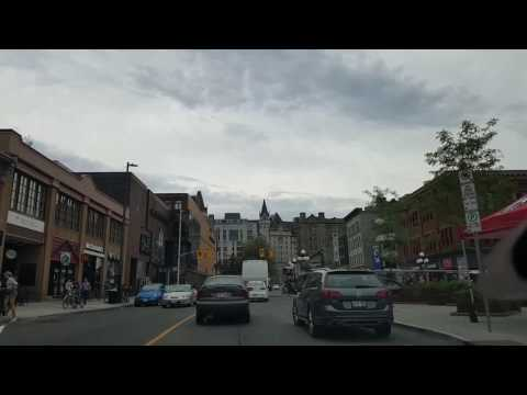 Driving around in Ottawa in June 2017