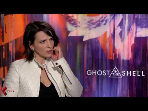 Ghost In The Shell (2017) Juliette Binoche talks about her experience making the movie