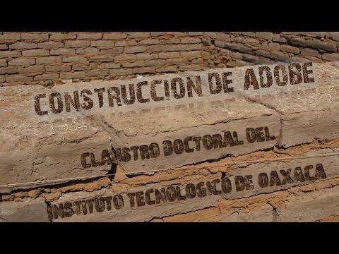 CONSTRUCCION DE ADOBE EN OAXACA