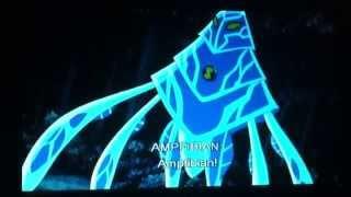 Ben 10 Ultimate Alien AmpFibian(Amperi) Transformation Video