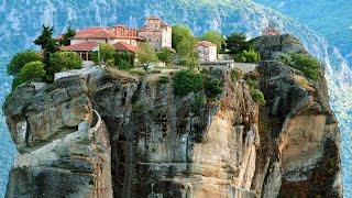 Метеоры Греция | Православные монастыри (greece)(На севере Греции, на Фессалийской равнине, возносятся к небу скалы-исполины, достигающие в высоту 600 метров...., 2015-02-03T06:34:33.000Z)