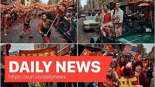 Daily News - New York celebrates Chinese Lunar New Year of the Pig with parade