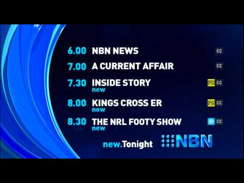 NBN Television Lineup (6.8.2015)