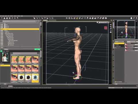 DAZ Studio 4.9 Pro very simple demo session