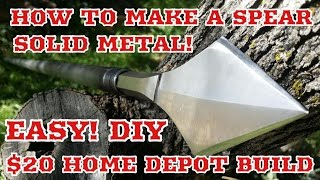 How To Make A Spear - Spear Making Tutorial