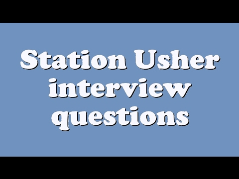 Download Station Usher interview questions