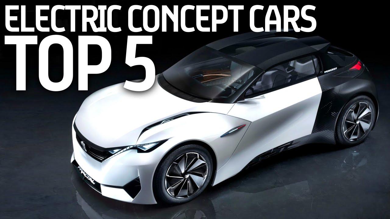 Top 5 Electric Concept Cars At Beijing Motor Show 2016 Formula E You