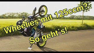 Wheelie Tutorial mit 125ccm | Husqvarna SMR 125 Motovlog