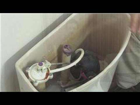 Bathroom Maintenance How To Replace A Toilets Overflow Tube