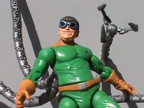 Marvel Legends Doctor Octopus Doc Ock (Series 8) Review ...