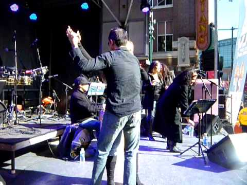 Mundo Beat's Orquesta Bravo! at Super Bowl Village Jan 28