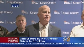 NYPD Officials On Officer Dragged By Car