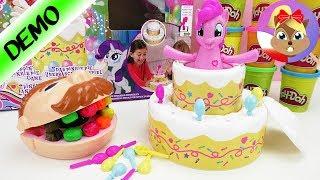 My little Pony - różowy kucyk w torcie gra z niespodzianką   Gra dla dzieci powyżej 3 r.ż.