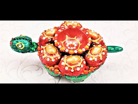 DIYA Decoration (7) for School Competition/Diwali/Festivals decoration using waste materials