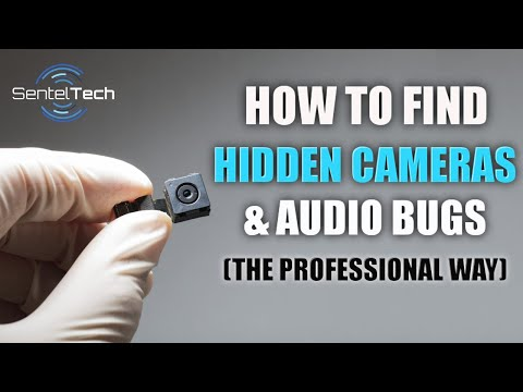 How To Find Hidden Spy Cameras And Audio Bugs (The Professional Way)
