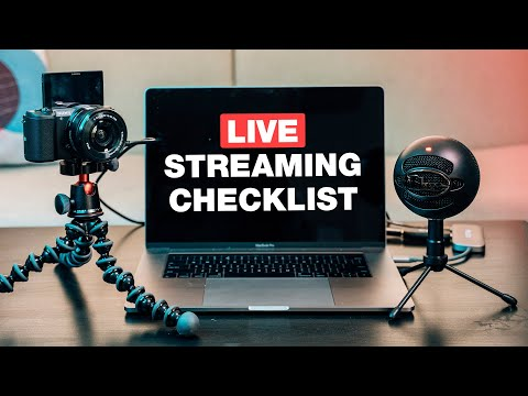 The Ultimate Live Streaming Equipment Checklist