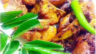 Nadan Chicken pollichath Kerala Chicken fry less oil