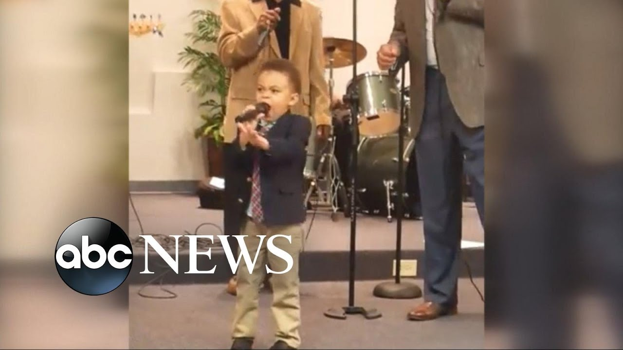 Boy Singing 'This Little Light of Mine' Becomes a Viral Sensation