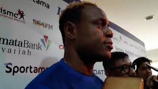 Ini Pernyataan Langsung Victor Igbonefo Soal Targetnya Bersama Persib Bandung