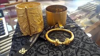 22 Ayar Altın Hint işi Kelepçe Bilezik Modelleri (TRABZON BİLEZİK)