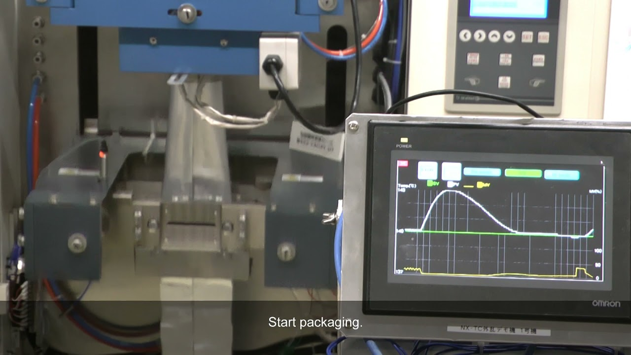 OMRON NX-TC pre-boost function