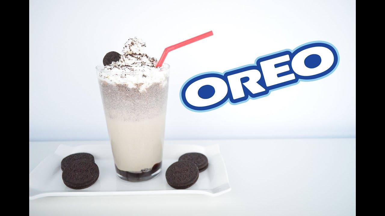 Cómo Hacer Batido De Oreo Fácil Y Rápido Oreo Milkshake Youtube