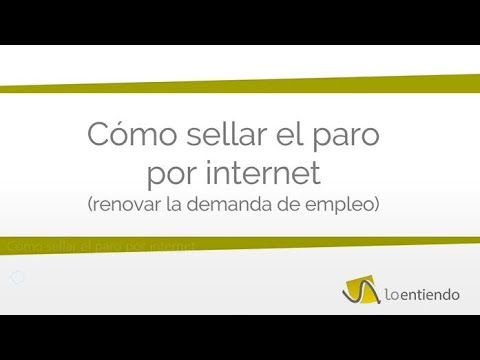 Cómo obtener un certificado del INEM o SEPE from YouTube · Duration:  2 minutes 19 seconds