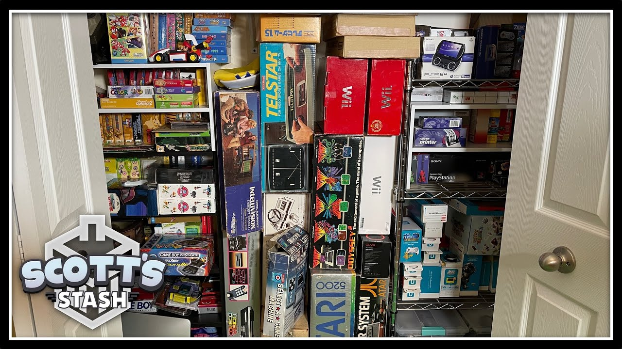 Scott's Cluster of Consoles